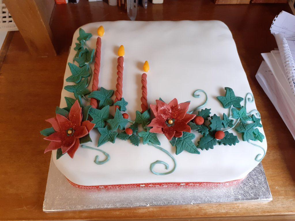 Home-made Christmas cake